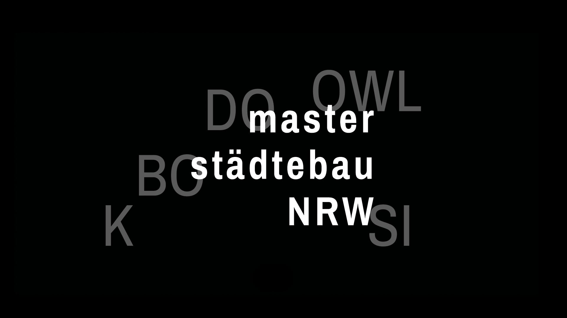 Masterstädtebau NRW